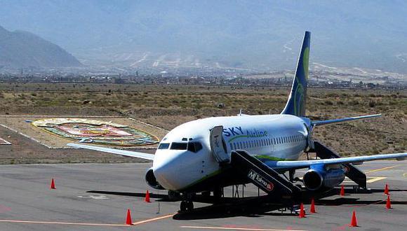 Sky suspenderá sus vuelos en Cusco y Juliaca. (Foto: GEC)