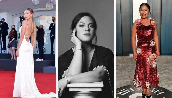 """Daniela Vega, Yalitza Aparicio y Ester Expósito se unieron para """"Peace Peace Now Now"""" y cada una contará la historia de mujeres en el mundo. (Foto: Instagram / @yalitzaapariciomtz / @ester_exposito / @dani.vega.h)."""