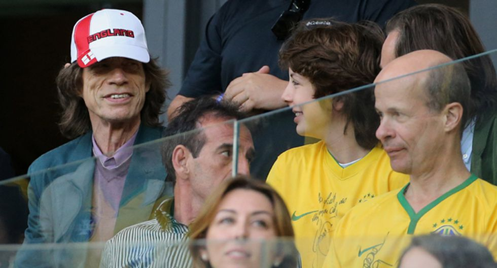 Mick Jagger pide que no lo culpen por la goleada a Brasil