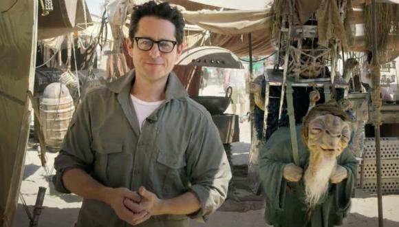 """J. J. Abrams muestra el set de la nueva """"Star Wars"""""""
