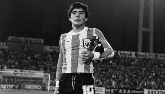 Diego Armando Maradona disputó cuatro Mundiales: España 1982, México 1986, Italia 1990 y Estados Unidos 1994. Si no hubiera salido del equipo de Argentina 78 habrian sido cinco torneos. (Foto: AP)