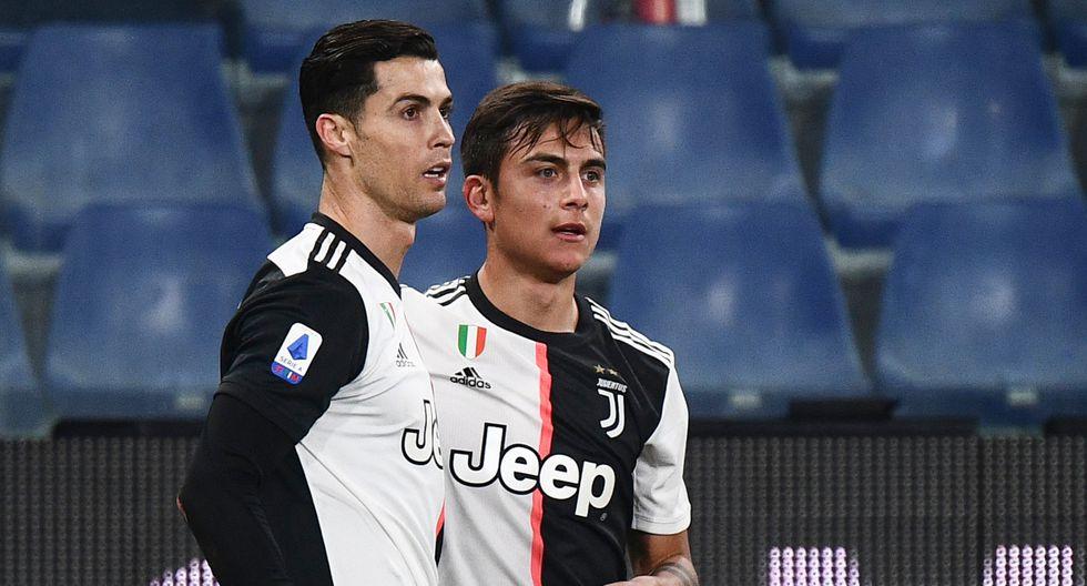 Paulo Dybala le confesó a Cristiano Ronaldo que en Argentina lo odian. (Foto: AFP)