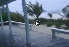 Los videos de las grandes inundaciones en Bahamas tras la llegada del huracán Dorian