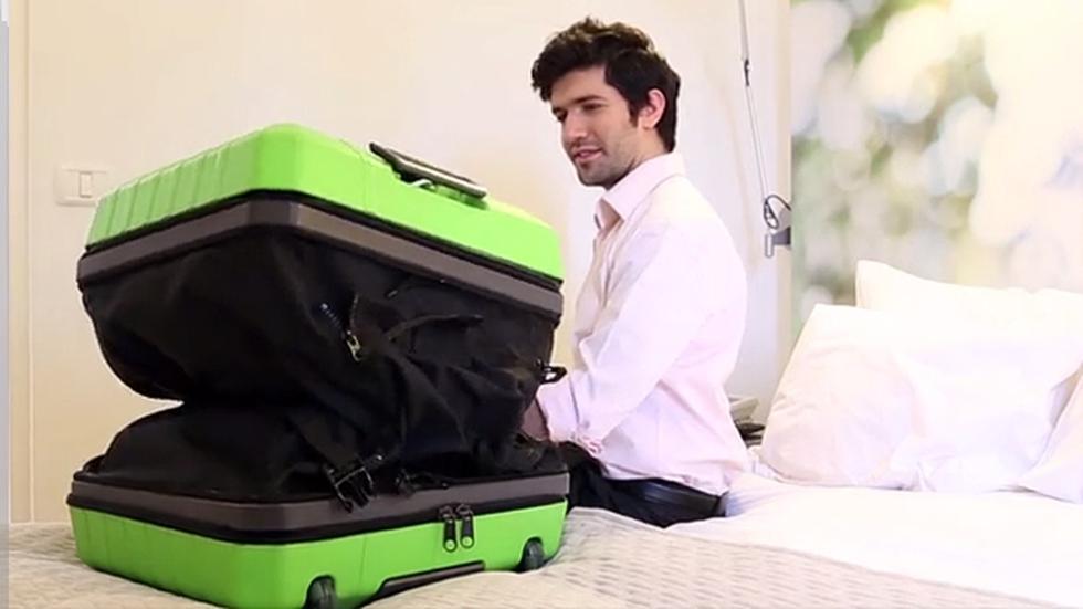 ¿Sin lugar en la maleta? Fugu se estira para que todo quepa ahí - 1