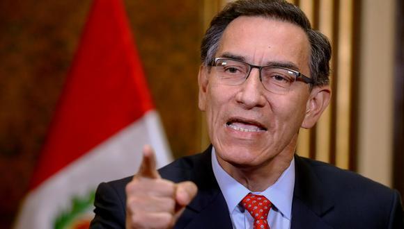 Martín Vizcarra. (Foto: Andrés Valle/ AFP)