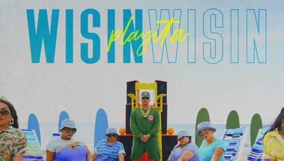 """""""Playita"""", lo nuevo de Wisin. (Foto: @wisin)."""
