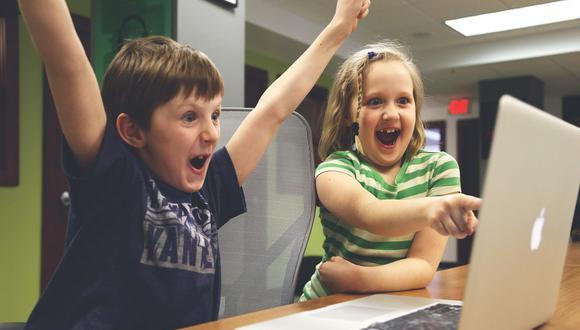 Los niños están muy relacionados a las nuevas herramientas de internet. (Foto: Difusión)