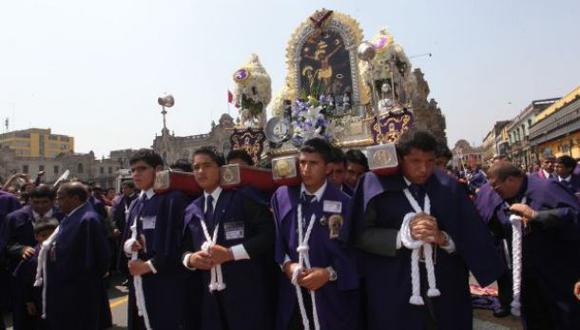 La procesión infantil del Señor de Los Milagros saldrá este 14