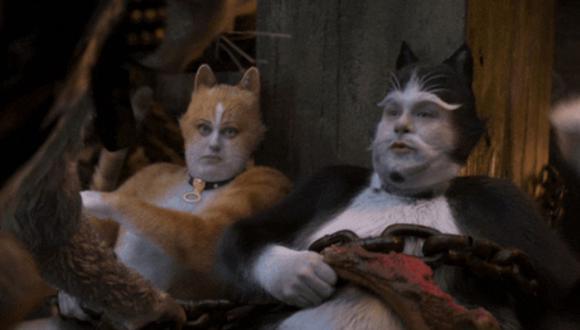 """""""Cats"""" arrasó en los Premios Razzie a las peores películas del año. (Foto: Captura de video)"""