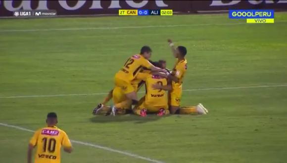 Gianfranco Labarthe anotó el 1-0 del Alianza Lima vs. Cantolao por la cuarta fecha del Torneo Apertura 2019 (Video: GOL Perú)