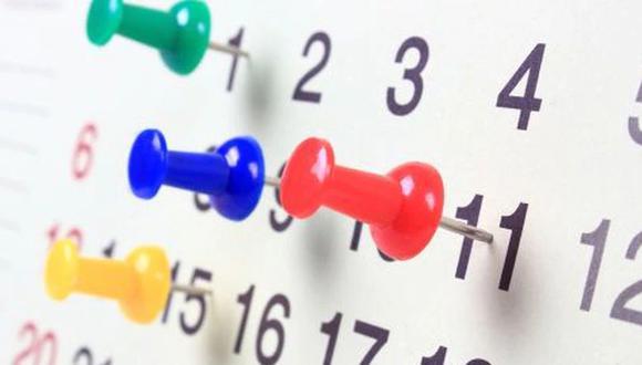 Revisa los días feriados pendientes del 2019 para que planifiques tu próximo viaje. (Foto: Pixabay)