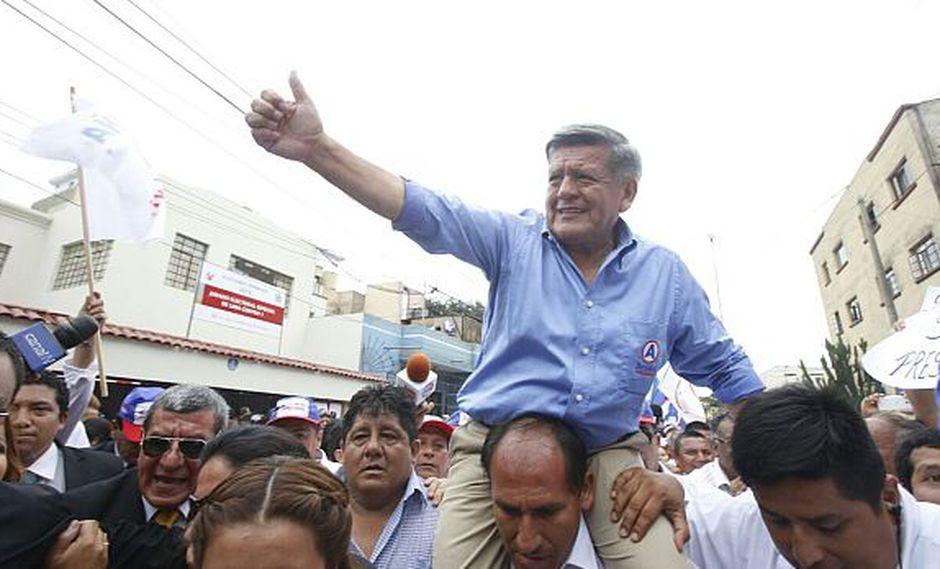 César Acuña y su plancha subsanan inscripción de candidatura