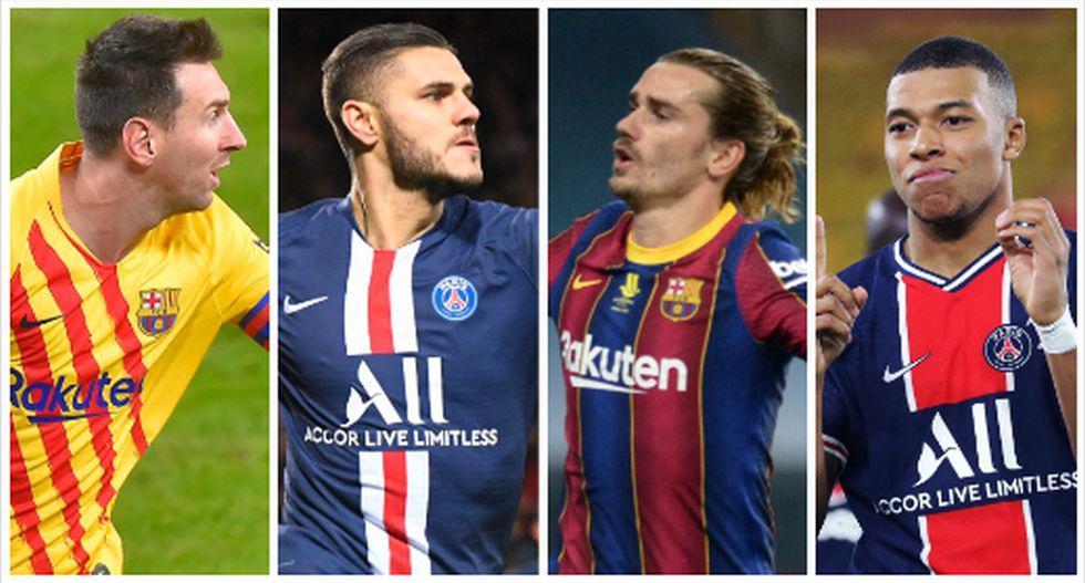 Las probables alineaciones del Barcelona-PSG en el Camp Nou, (Foto: AFP)
