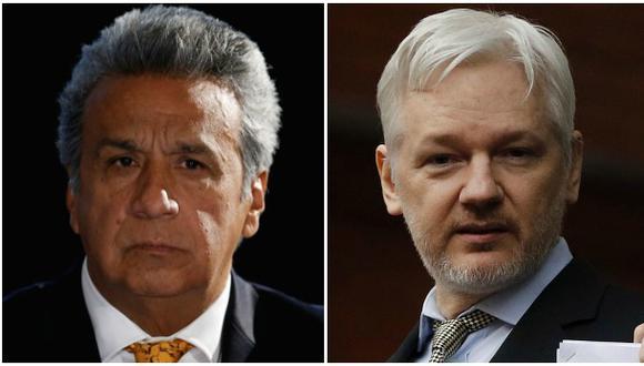 Moreno pide a Assange que no se entrometa en asuntos de Ecuador
