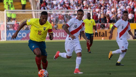 Perú visita a Ecuador por la fecha 8 de las Eliminatorias Qatar 2022 (Foto: AFP)