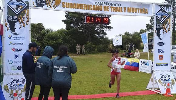 Por equipos damas Perú se ubicó en el segundo lugar y el ganador fue Chile.