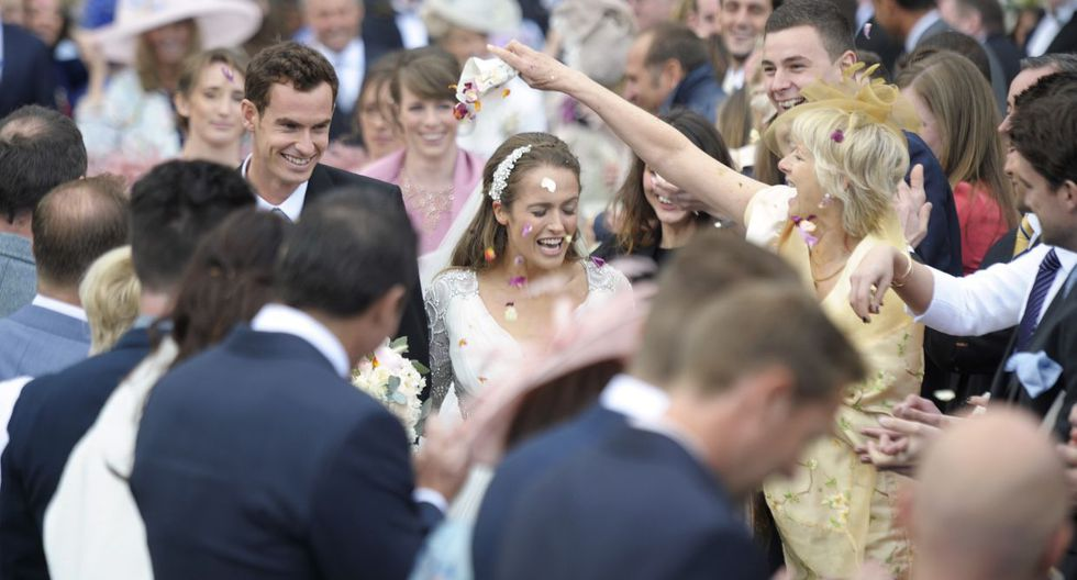 Tenista Andy Murray se casó en Escocia con Kim Sears (FOTOS) - 6