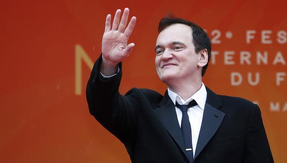 Quentin Tarantino en Cannes 2019.  (Foto: Agencias)