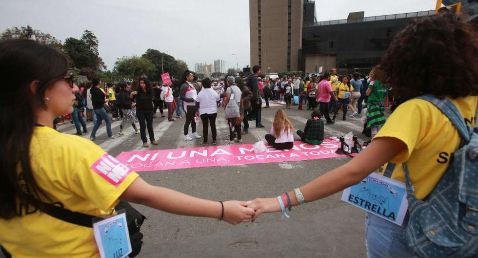 #NiUnaMenos: imágenes de la concentración pre marcha [FOTOS] - 16