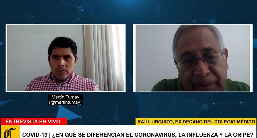 Programa especial de El Comercio sobre el coronavirus.