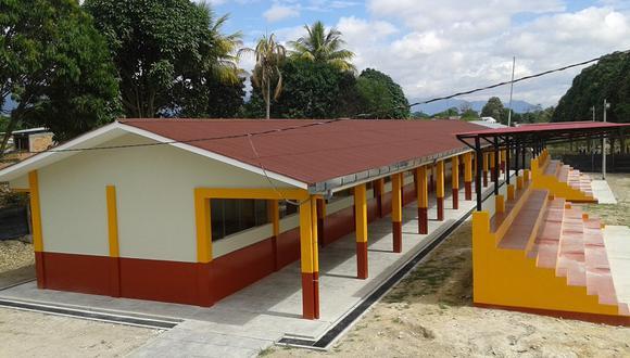 Remodelan instalaciones de colegio bilingüe en comunidad Awajun