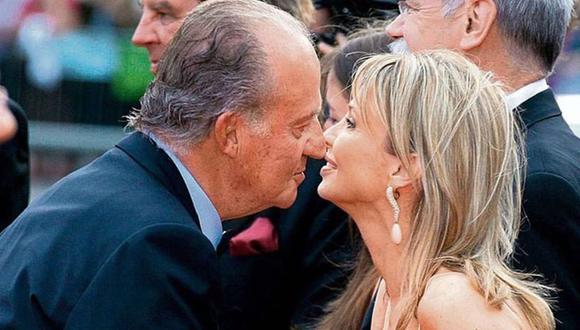 """Corinna Larsen dice que tuvo una """"relación romántica"""" con Juan Carlos I."""
