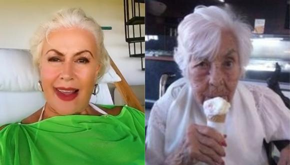Laura Zapata reveló nuevos detalles sobre el maltrato que sufrió su abuela. (Foto: @laurazapataoficial)