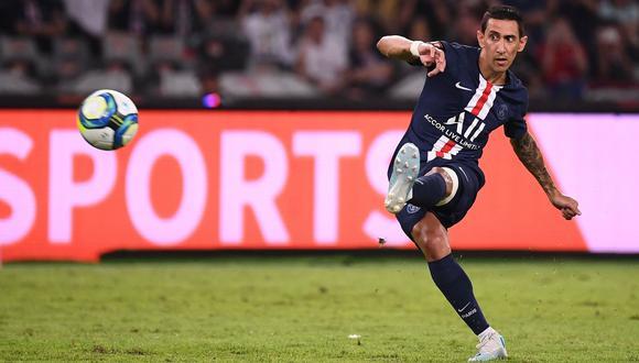 Di María y la sublime definición de tiro libre en el triunfo del PSG vs. Rennes por Copa de Francia | VIDEO. (Foto: AFP)