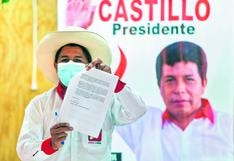 Castillo usó frase de Simon Bolívar que también han citado Hugo Chávez y Nicolás Maduro