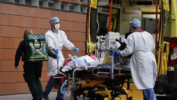 Coronavirus en Reino Unido | Últimas noticias | Último minuto: reporte de infectados y muertos hoy, miércoles 20 de enero del 2021. (Foto: Tolga Akmen / AFP).