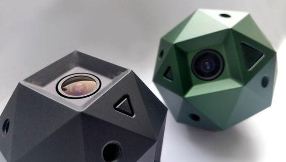 Diseñan cámara esférica que graba videos de 360 grados en 4k