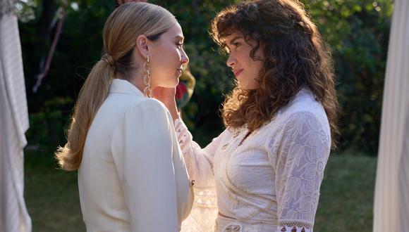 Paula Usero (Luisita) y Carol Rovira (Amelia) en el capítulo 8 de #Luimelia4