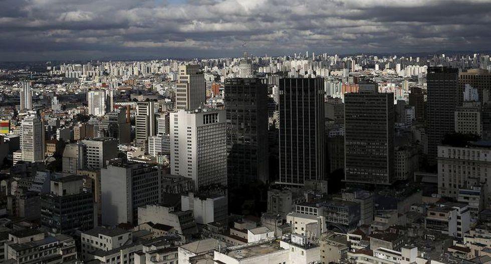 Sao Paulo (86) se ubica en la tercera posición del ránking de mayor costo de vida en América del Sur. El año pasado estuvo en el puesto 58. (Foto: Reuters)
