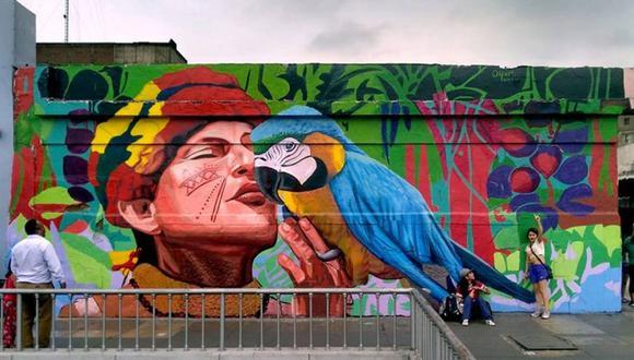 Google Maps te permite ver los murales borrados del Centro de Lima. ¿Cuál recuerdas? (Foto: Google)
