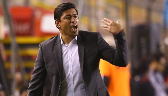 Nicolás Córdova, entrenador de Universitario de Deportes. (Foto: El Comercio)