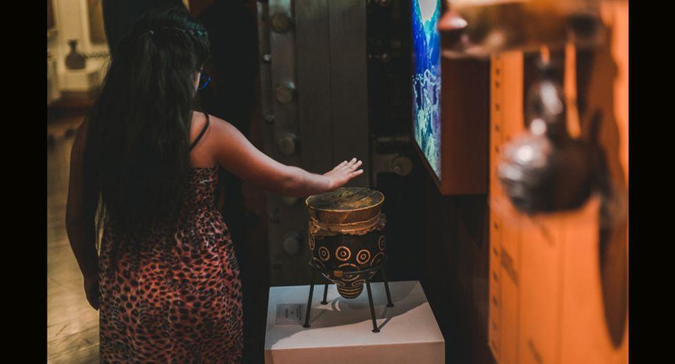 En la antigua bóveda del BCRP ahora se encuentra la Sala de Oro, donde se exhiben piezas y adornos elaborados con metales preciosos. (Foto: BCRP)