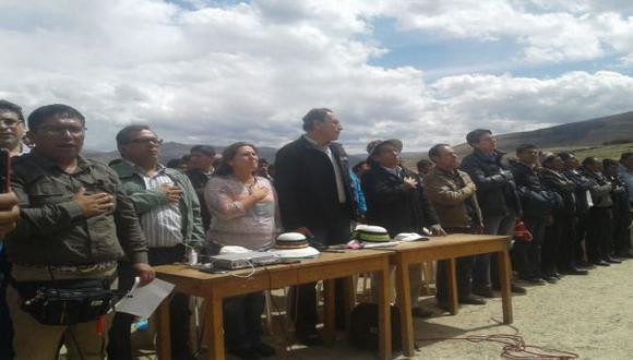Comitiva del Ejecutivo inicia diálogo en Las Bambas