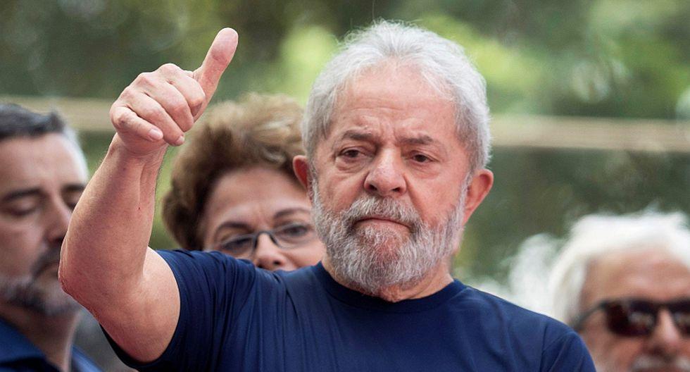 Luiz Inácio Lula da Silva, ex presidente de Brasil. (Foto: EFE/Sebastião Moreira)
