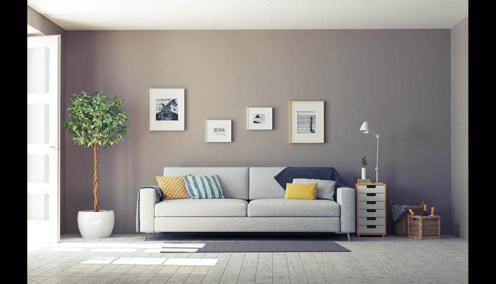 Las paredes son el mejor lienzo crear una galería de fotografías y cuadros. (Foto: Shutterstock)