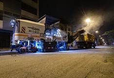 Realizan mantenimiento de más de 3.5 kilómetros en la avenida 13 de enero, en San Juan de Lurigancho