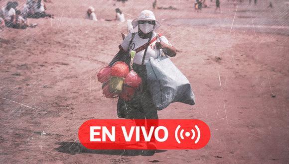 Coronavirus Perú EN VIVO | Últimas noticias, cifras oficiales del Minsa y datos sobre el avance de la pandemia en el país. (Foto: Diseño El Comercio)