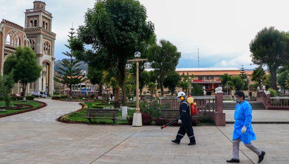 En Áncash suman 13 personas afectadas con el COVID-19. (Foto: Cortesía Municipalidad Provincial de Huaraz)