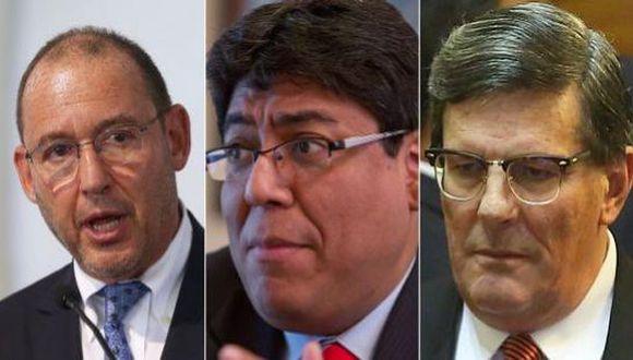 Congreso eligió a Chlimper, Cuba y Rey para el BCR