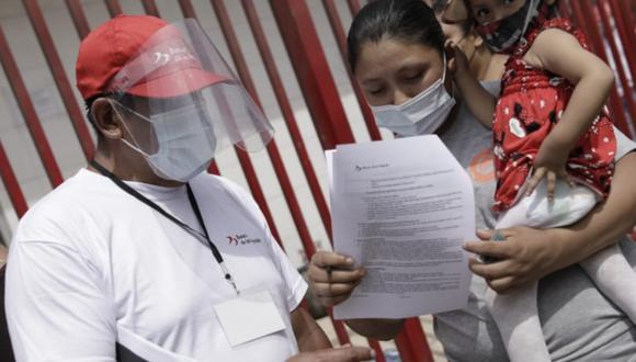 El Midis habilitó una plataforma para registrar los posibles problemas que se presenten a la hora de cobrar el bono de 600 soles (Foto: GEC)