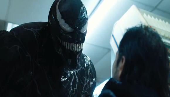 Venom, uno de los peores enemigos de Spider-Man, hace su estreno en la pantalla grande en octubre de este año.  (Fotos: Capturas de YouTube)
