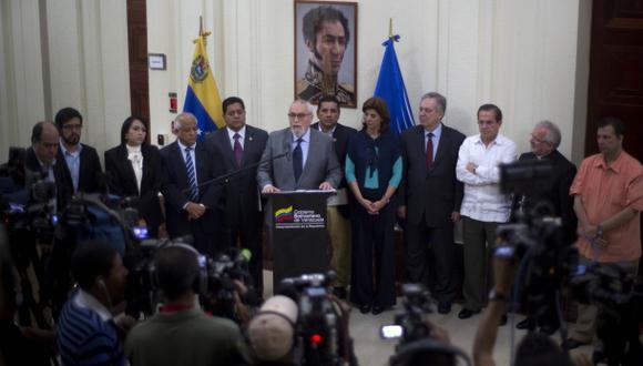 Venezuela: Oposición trabajará en el plan de paz del gobierno