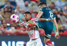 Necaxa vs. Puebla : resultado y goles del partido por la Liga MX