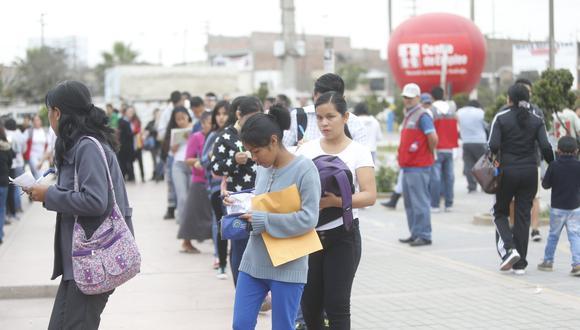 El número de desempleados aumentó en Lima. (Foto: Mario Zapata | GEC)
