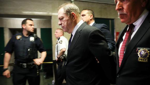 Harvey Weinstein se declara no culpable de tres nuevas denuncias por delitos sexuales. (Foto: AFP)