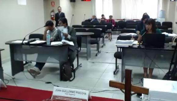 Fiscalía logró que se revocará el fallo que absolvió a Manuel Paucar y ordenó que el sentenciado pague S/ 100 mil soles como reparación civil a favor del Estado. (Difusión Ministerio Público).